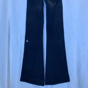 Lululemon vintage thick cotton/lycra flare pants